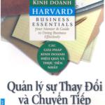 Cẩm nang kinh doanh Harvard – Quản lý sự thay đổi và chuyển tiếp